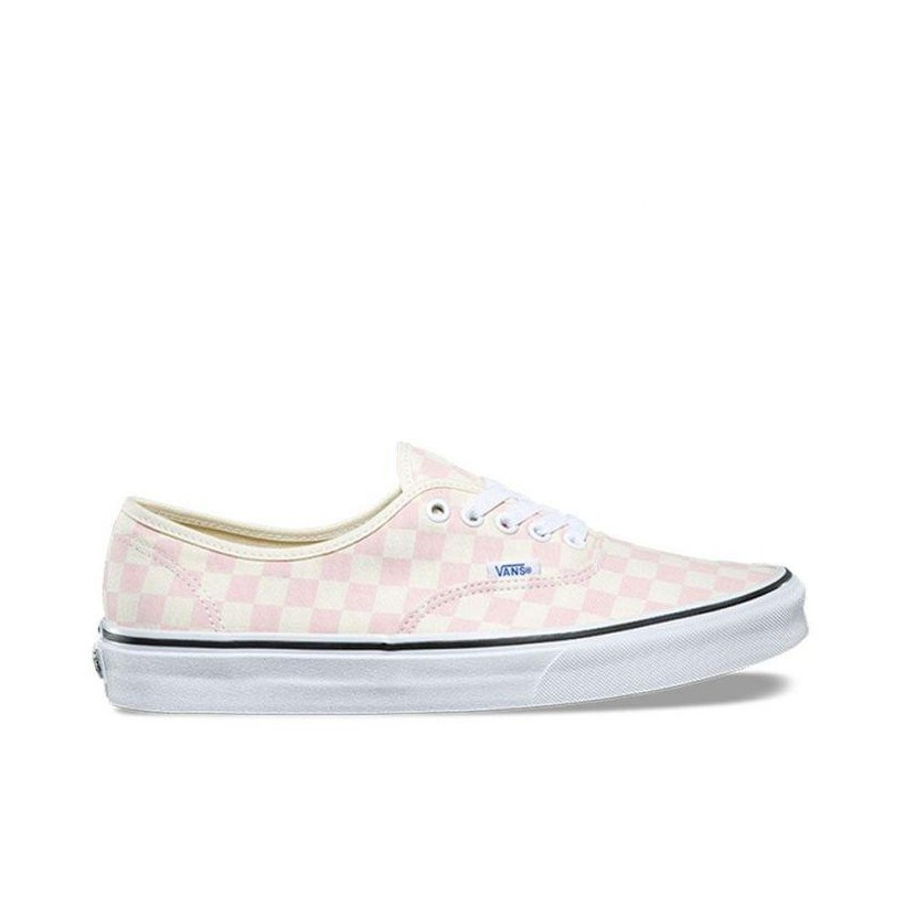 AUTHENTIC CHECKERBOARD (CHECKERBOARD) CHALK PINK/CLASSIC WHITE
