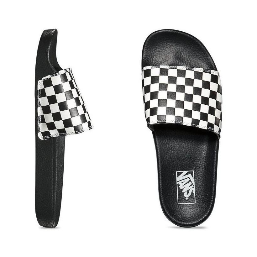 CHECKERBOARD SLIDE (CHECKERBOARD)WHITE