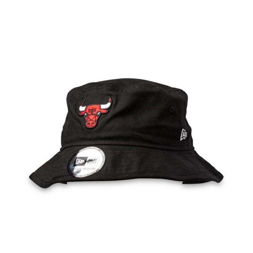 Chicago Bulls Bucket Hat Black