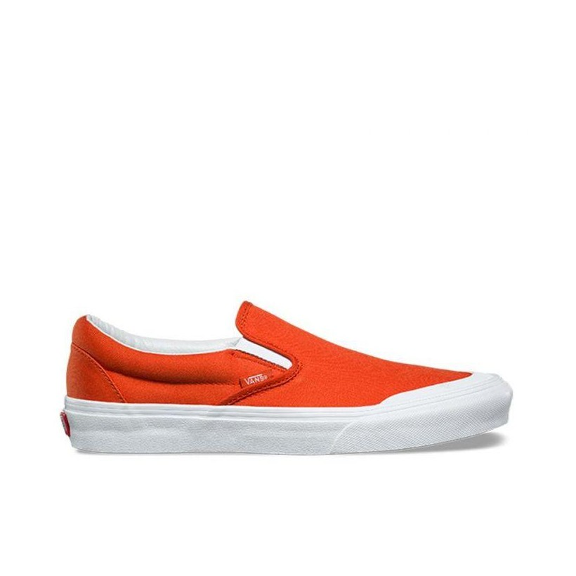 Classic Slip-On 138 (Canvas) Pureed Pumpkin