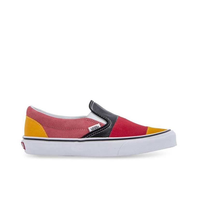 Classic Slip-On Patchwork (Patchwork) Multi/True White