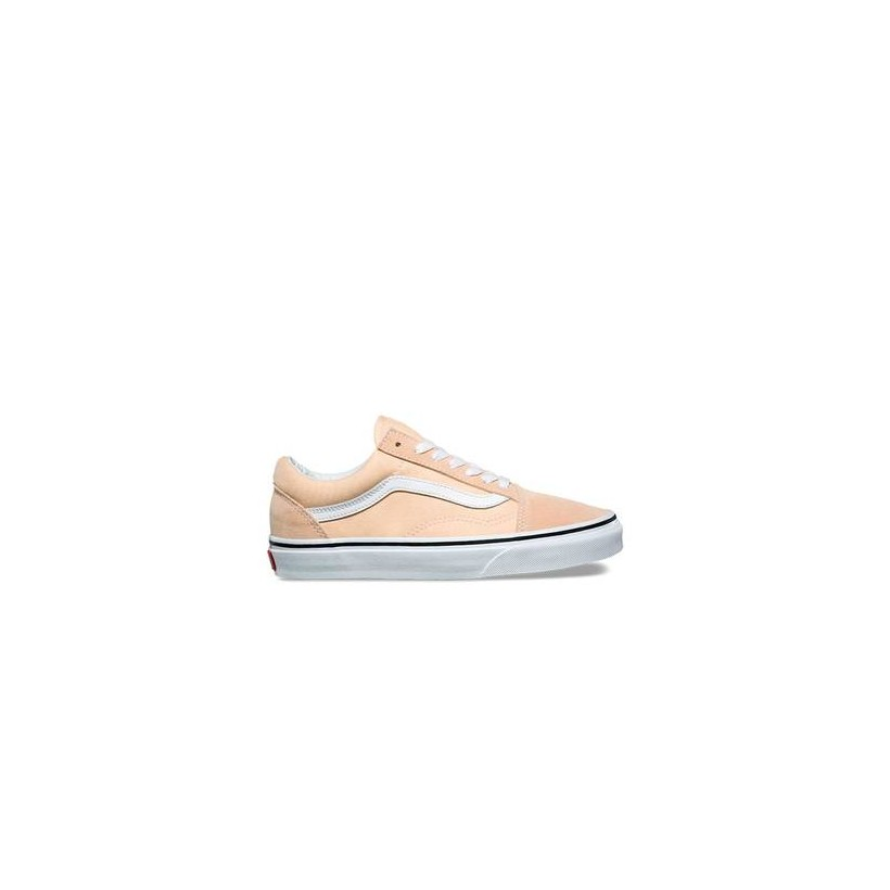 Colour Theory Old Skool Bleached Apricot/True White