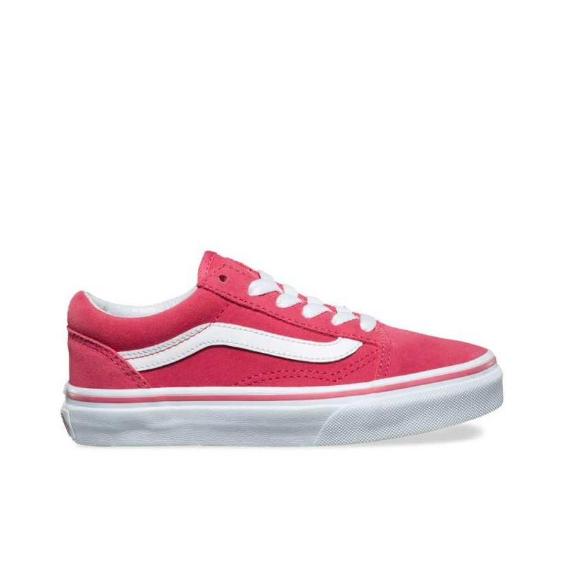 KIDS OLD SKOOL (SUEDE) DESERT ROSE/TRUE WHITE