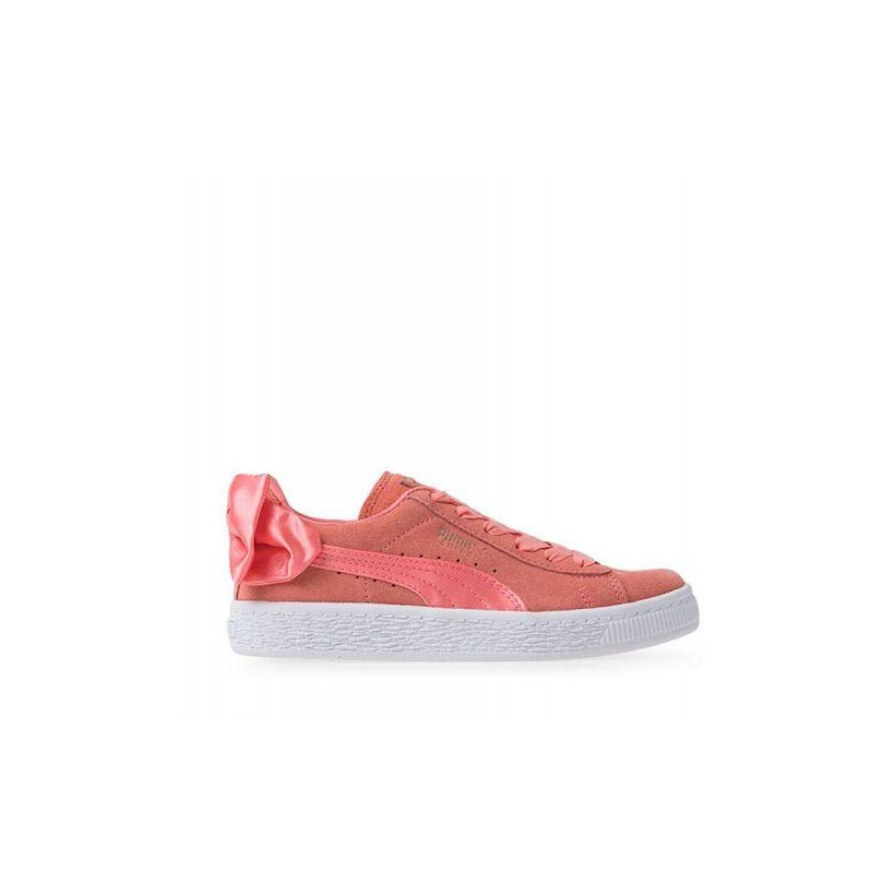 Kids Suede Bow GS by Puma