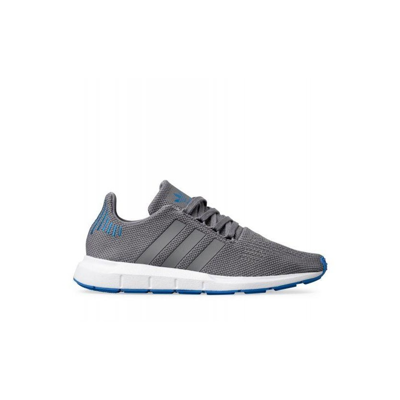 Kids Swift Run Grey Three F17/Grey Three F17/Bright Blue