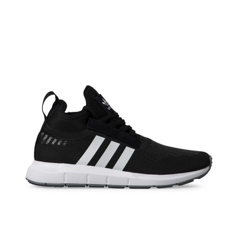 MENS SWIFT RUN BARRIER CORE BLACK/FTWR WHITE/GREY