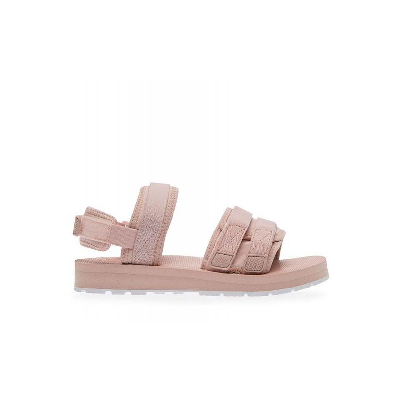 Outdoorsy Sandals Peach Whip/white