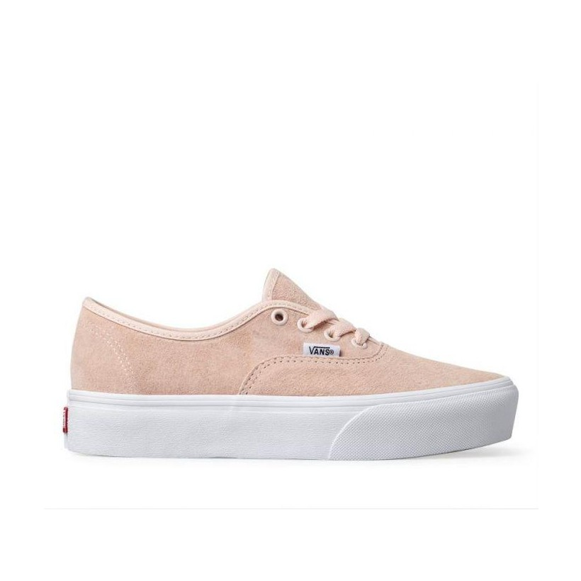 SUEDE AUTHENTIC PLATFORM 2.0 (PIG SUEDE) PALE DOGWOOD/TRUE WHITE