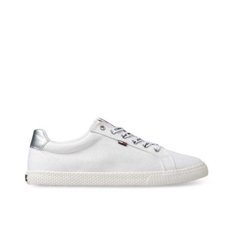 TJW Textile Casual Sneakers White