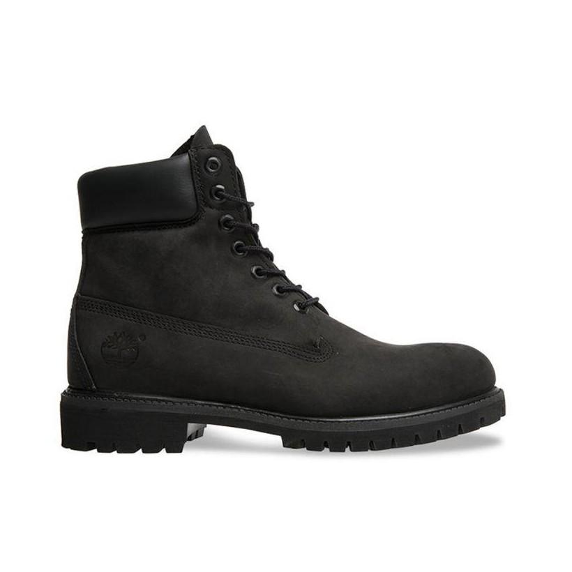 Women's 6-Inch Premium Waterproof Boot Black Waterbuck