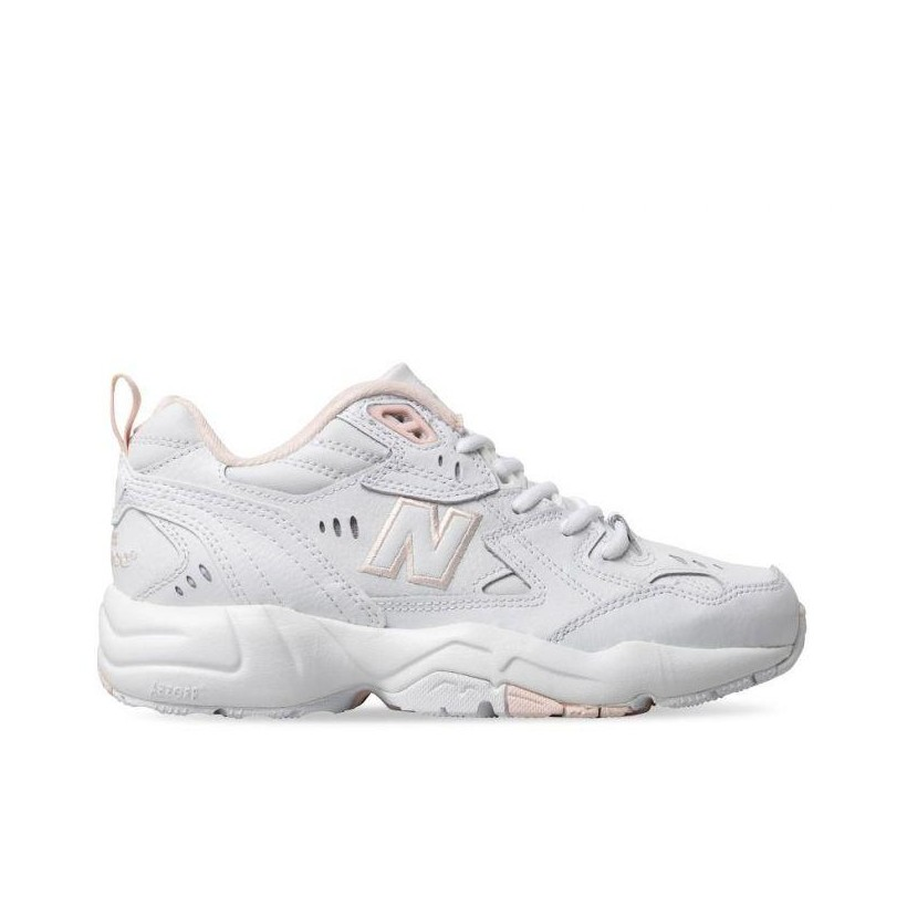WOMENS 608 WHITE/PEACH