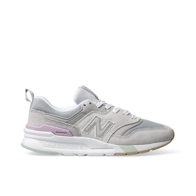 Womens 997H Grey/White