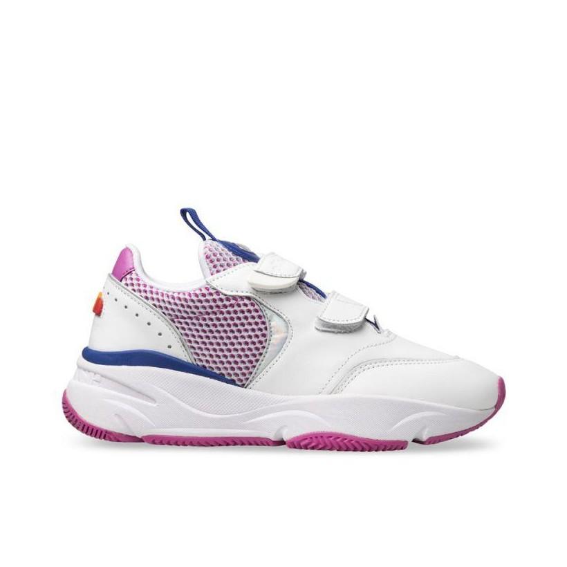 Womens Cesana White/Bold Blue/Super Pink