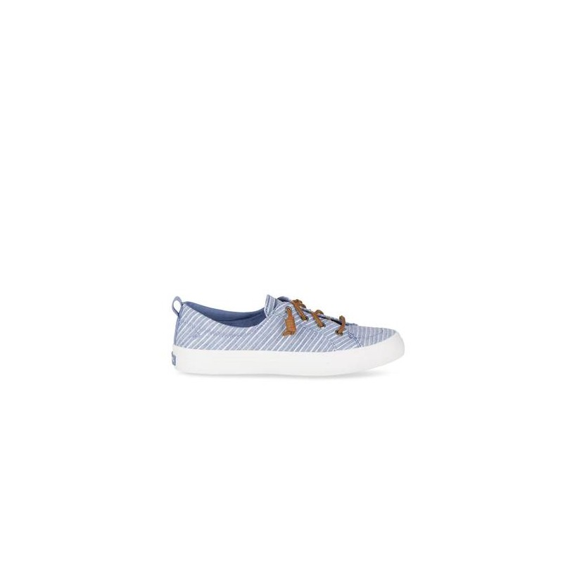 Womens Crest Vibe Blue/White