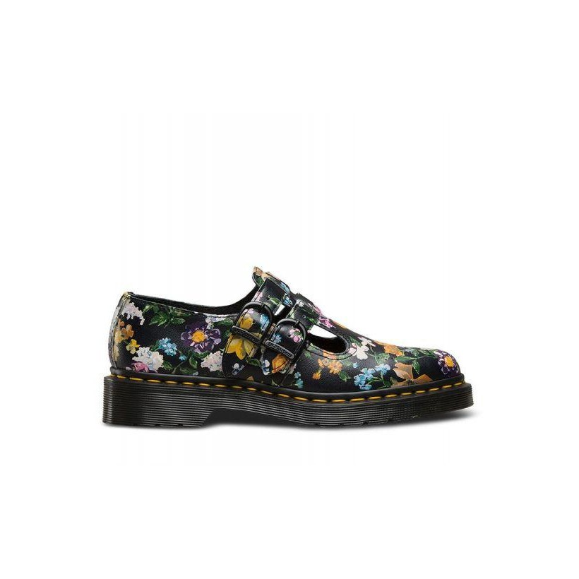 Womens Darcy Floral 8065 Black Darcy Floral Backhand