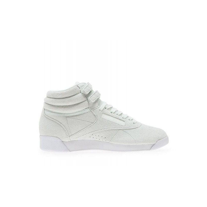 Womens Freestyle Hi Opal/White