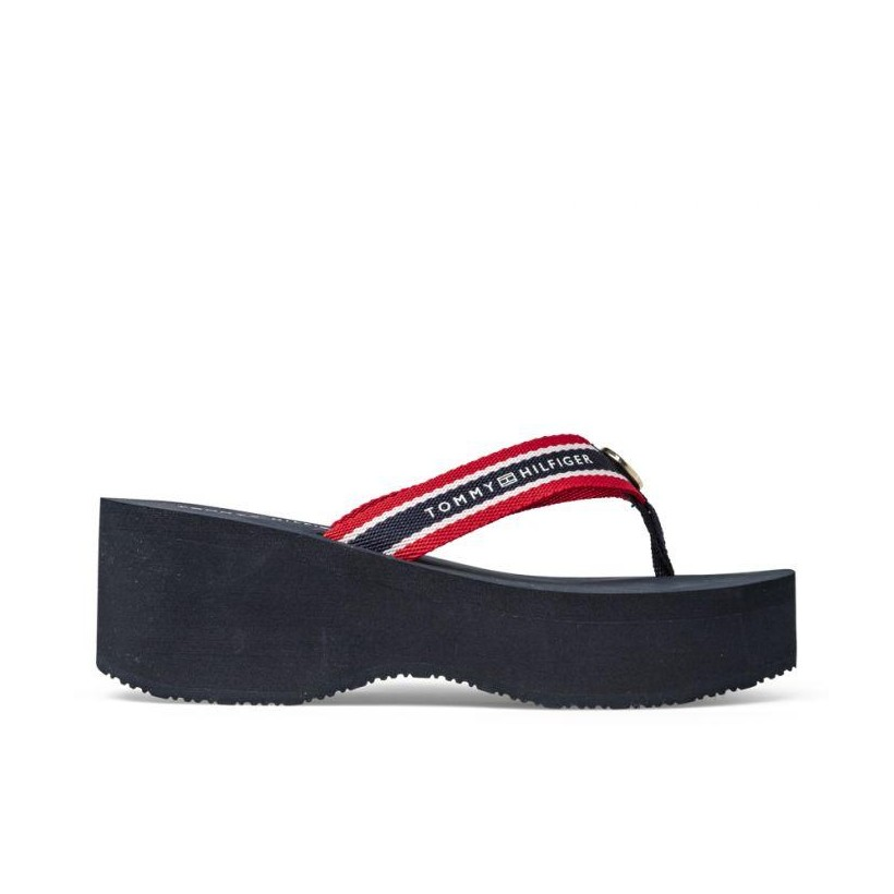 Womens Hardware Detail Beach Sandal Rwb
