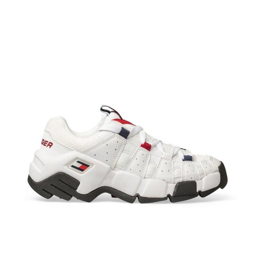 Womens Heritage Chunky Sneaker White