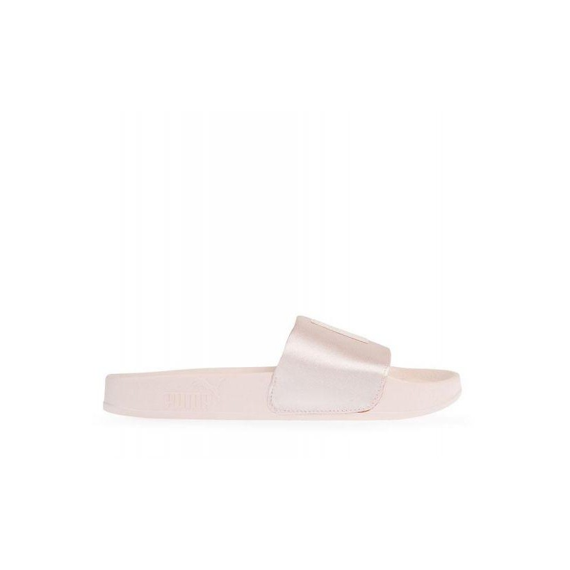 Womens Leadcat Satin Slide Peach Beige