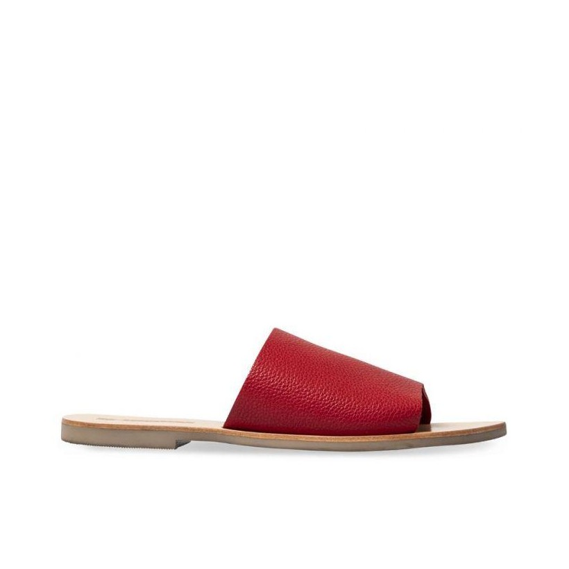 WOMENS TERESA SLIDE STRAWBERRY