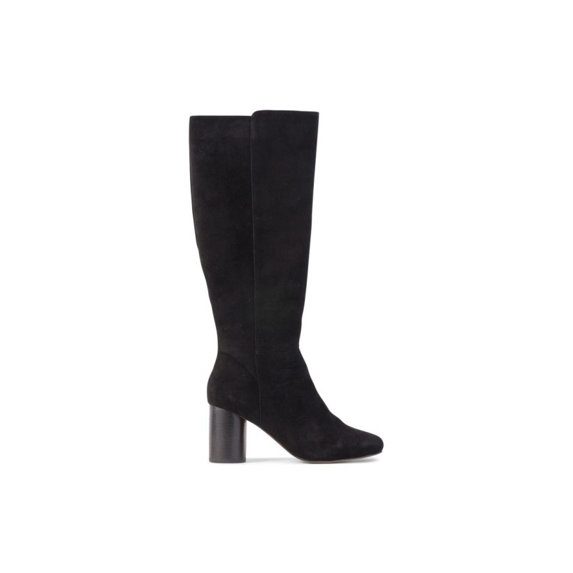 Prime - Black Kid Suede by Siren Shoes