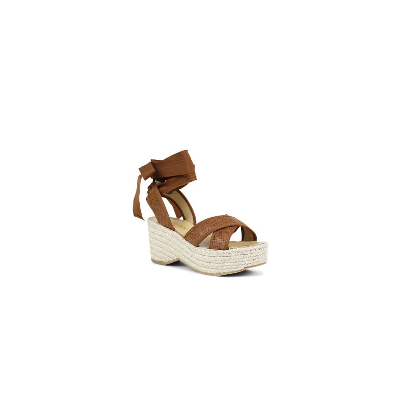 Raja - Camel Weave by Siren Shoes