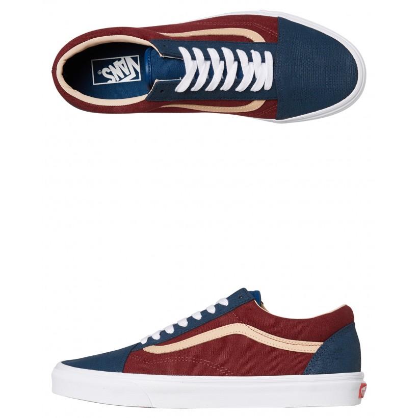 Womens Old Skool Shoe Sailor Blue By VANS