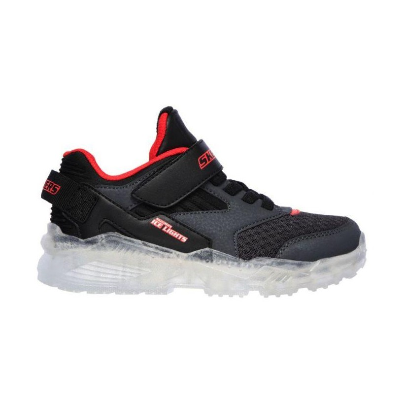 Charcoal/Black - Boys' Ice Lights: Arctic-Tron - Zollow