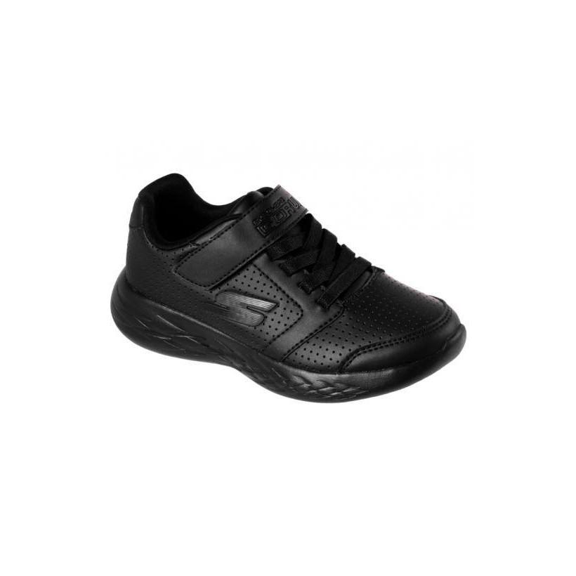 Black/Black - Boys' Skechers GOrun 600 - Influx