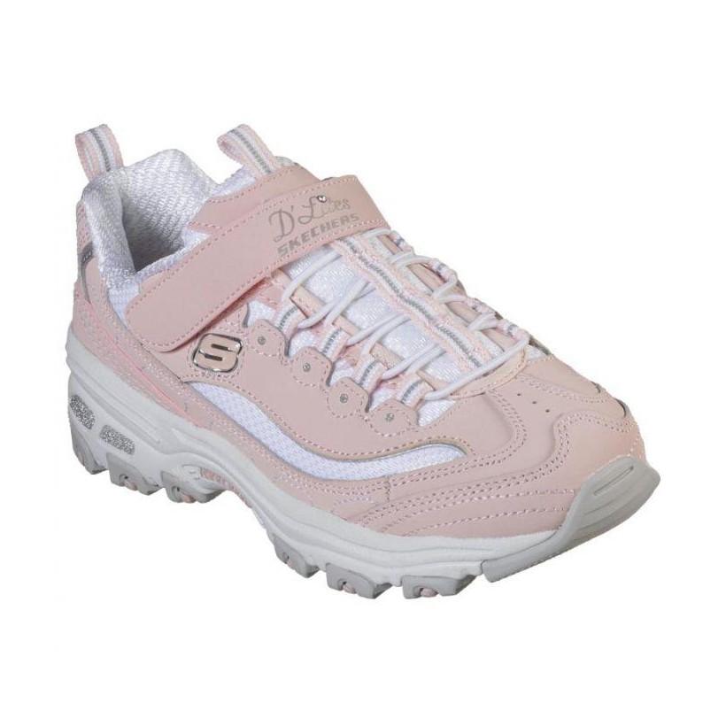 Light Pink White - Girls' D'Lites - Crowd Appeal