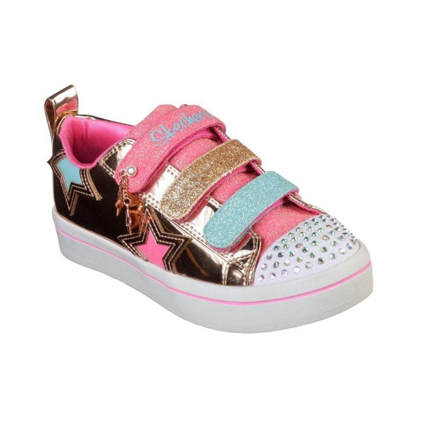 Rose Gold - Girls' Twinkle Toes: Twi-Lites - Twinkle Stars