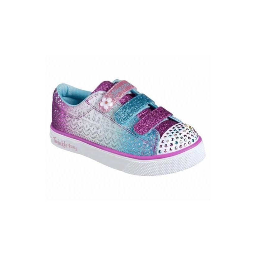 Purple/Turquoise - Girls' Twinkle Toes: Twinkle Breeze 2.0 - Sunshine Crochets