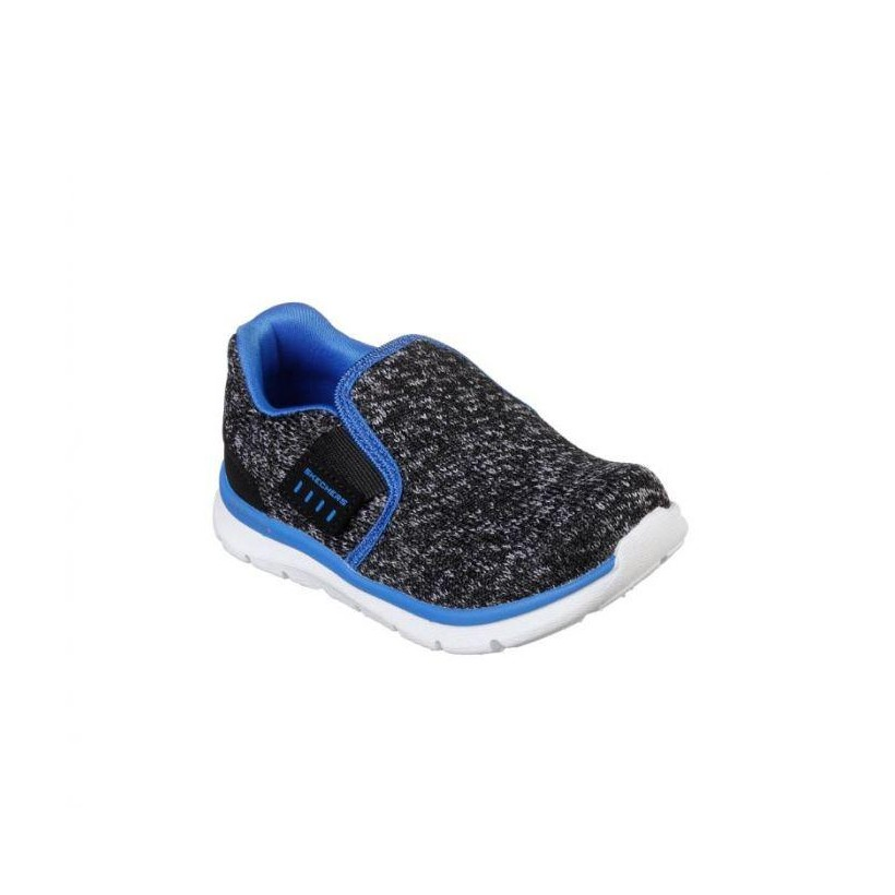 Black/Charcoal - Infant Boys' Skech Lite - Power Volt