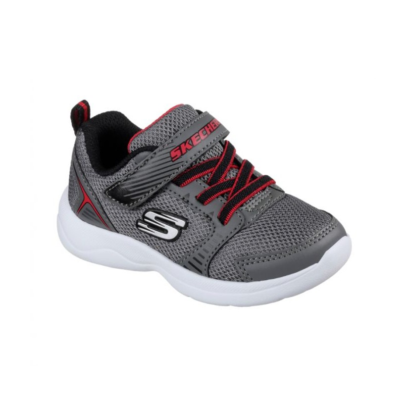Charcoal/Black - Infant Boys' Skech-Stepz 2.0 - Rapid Torque