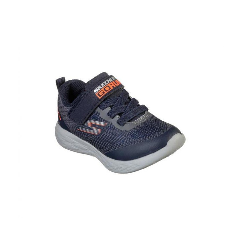 Navy/Charcoal - Infant Boys' Skechers GOrun 600 - Farrox