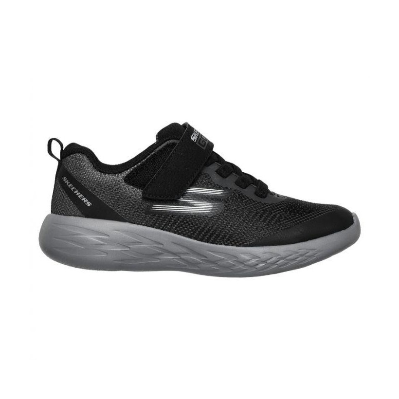 Black/Charcoal - Infant Boys' Skechers GOrun 600 - Farrox
