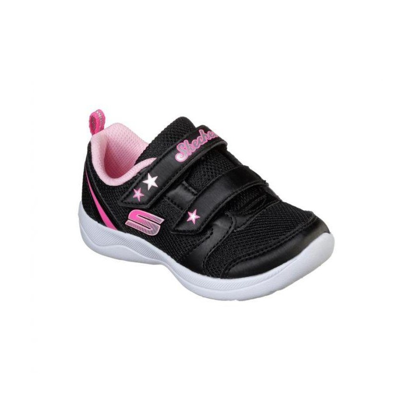 Black - Infant Girls' Skech-Stepz - Lil Trainer