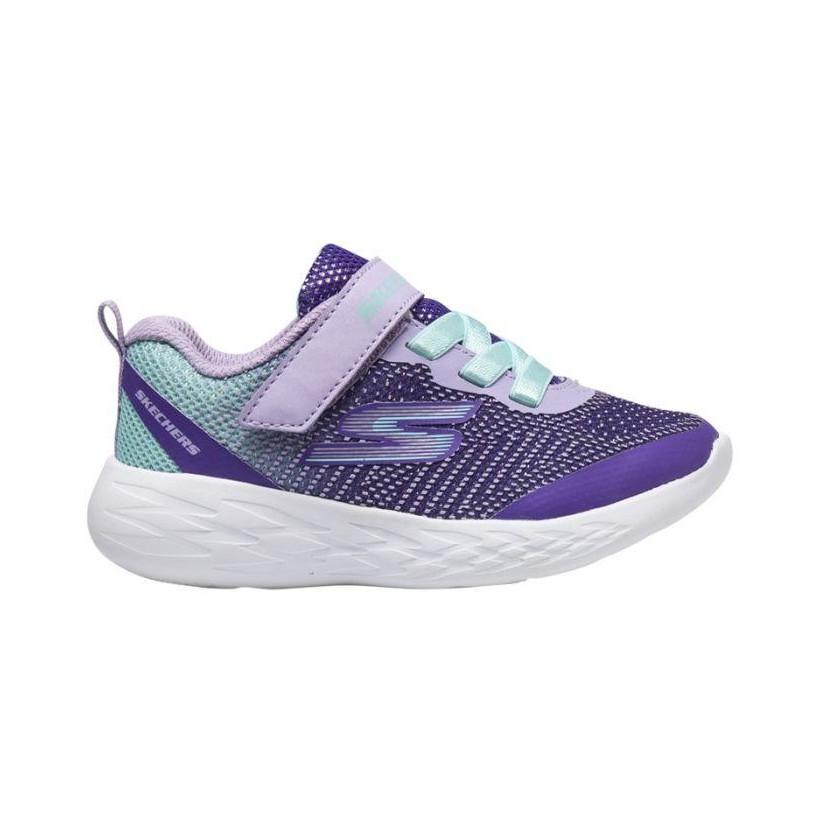Lavender/Multi - Infant Girls' Skechers GOrun 600 - Dazzle Strides