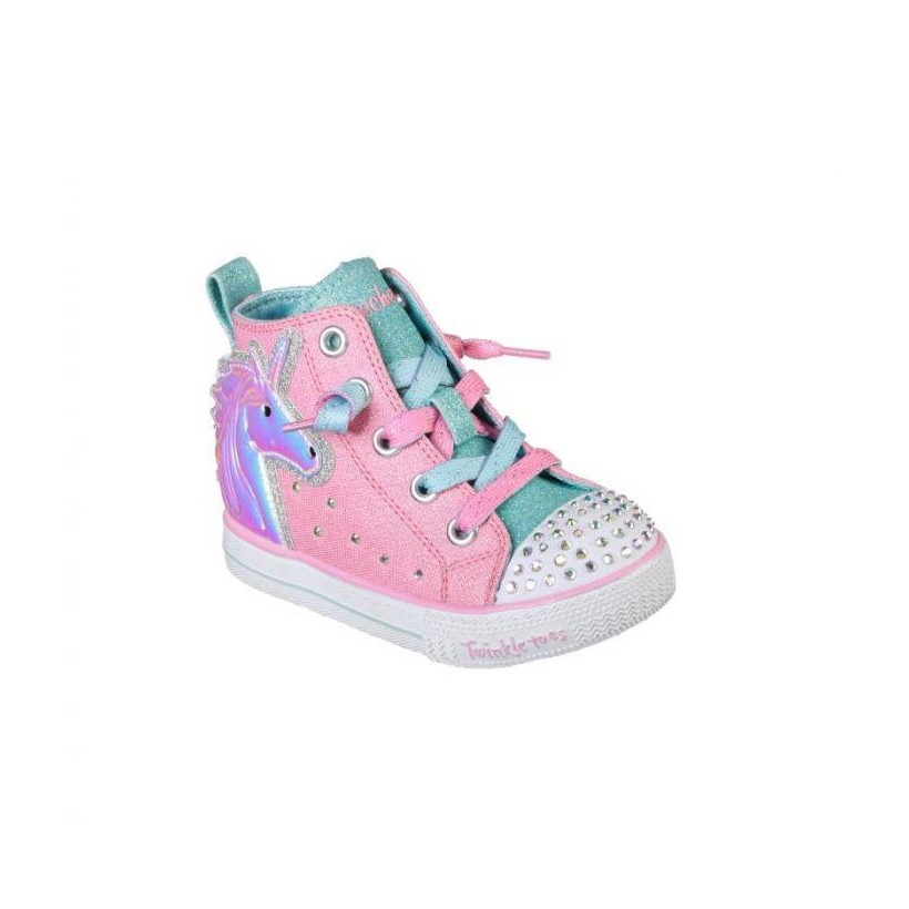 Pink/Multi - Infant Girls' Twinkle Toes: Twinkle Lite - Unicorn Mini
