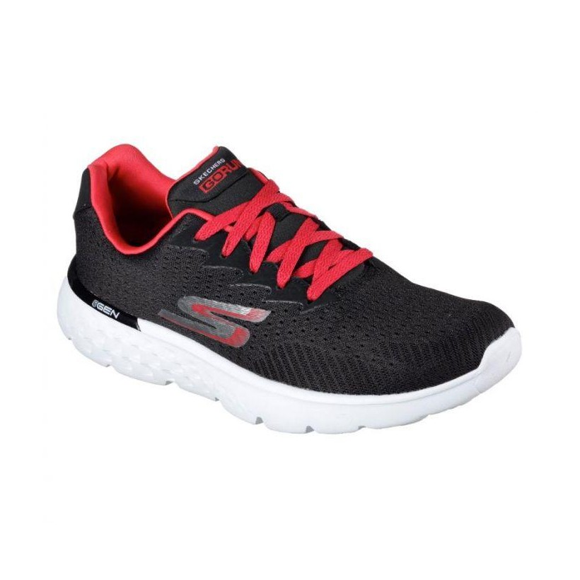 Black Red - Men's Skechers GOrun 400 - Generate