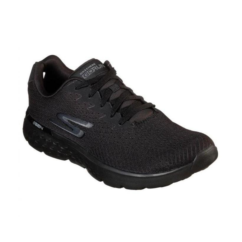 Black/Black - Men's Skechers GOrun 400 - Generate