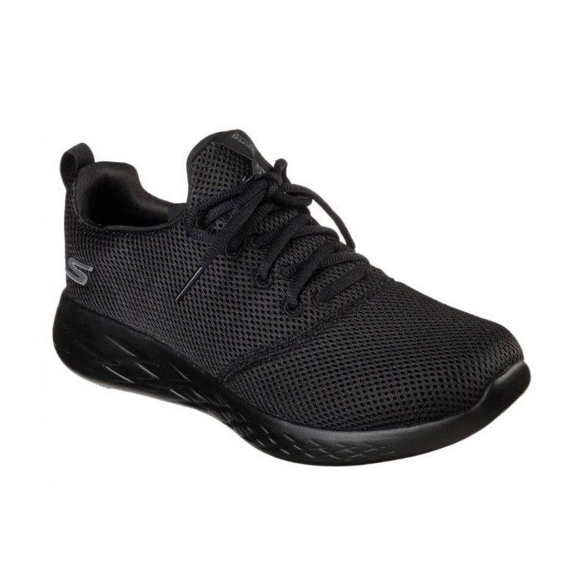 Black/Black - Men's Skechers GOrun 600 - Defiance