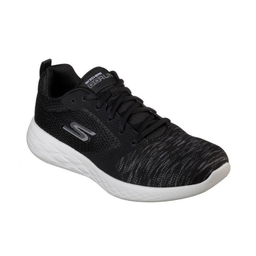 Black/Grey - Men's Skechers GOrun 600 - Reactor