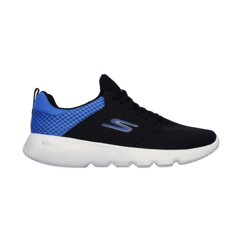 Black/Blue - Men's Skechers GOrun Focus - Athos