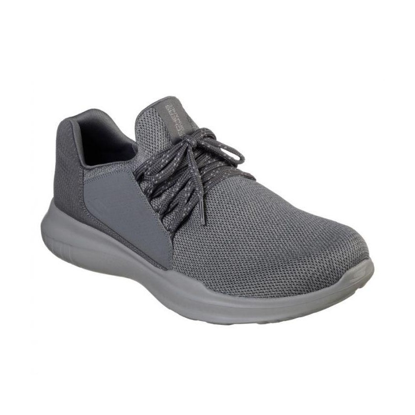 Charcoal - Men's Skechers GOrun Mojo - Inspirate