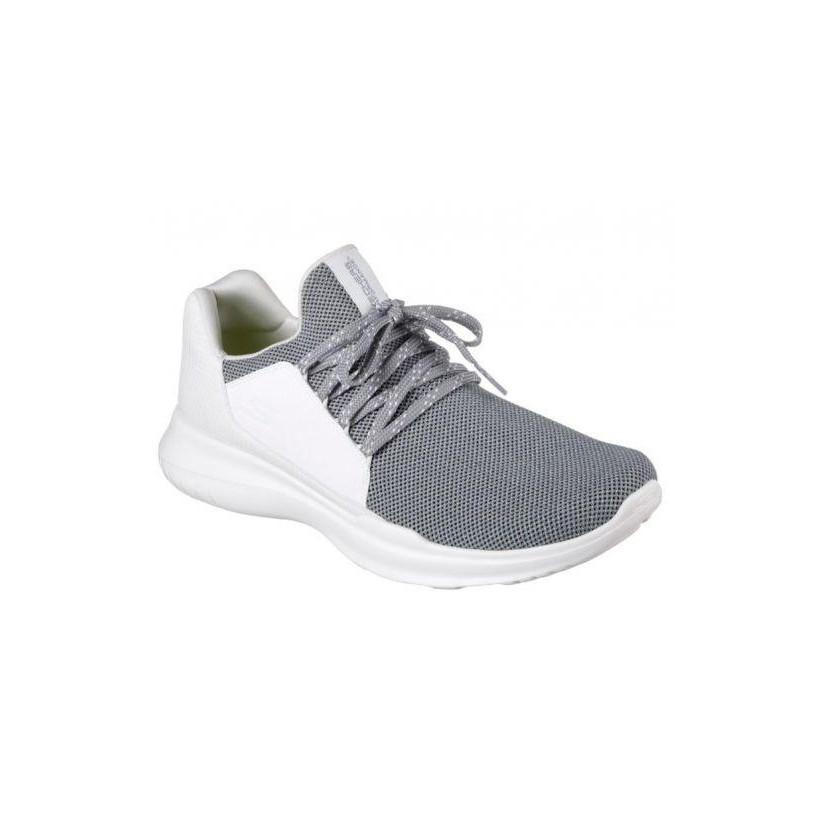 White Grey - Men's Skechers GOrun MOJO - Verve