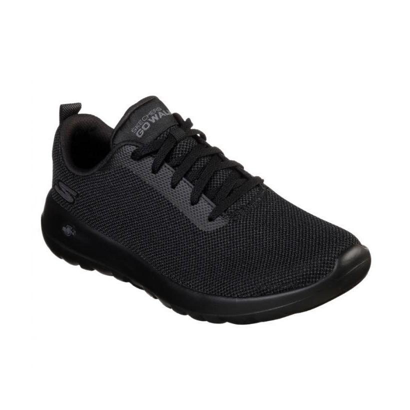 Black/Black - Men's Skechers GOwalk Max - Precision