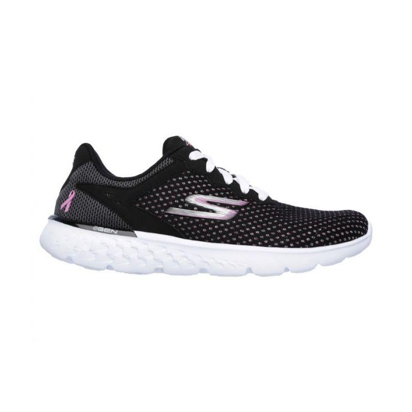 Black Pink - Women's Skechers GOrun 400 - Empower