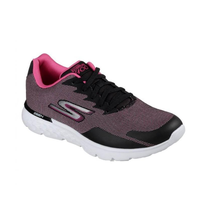Black Pink - Women's Skechers GOrun 400 - Launch