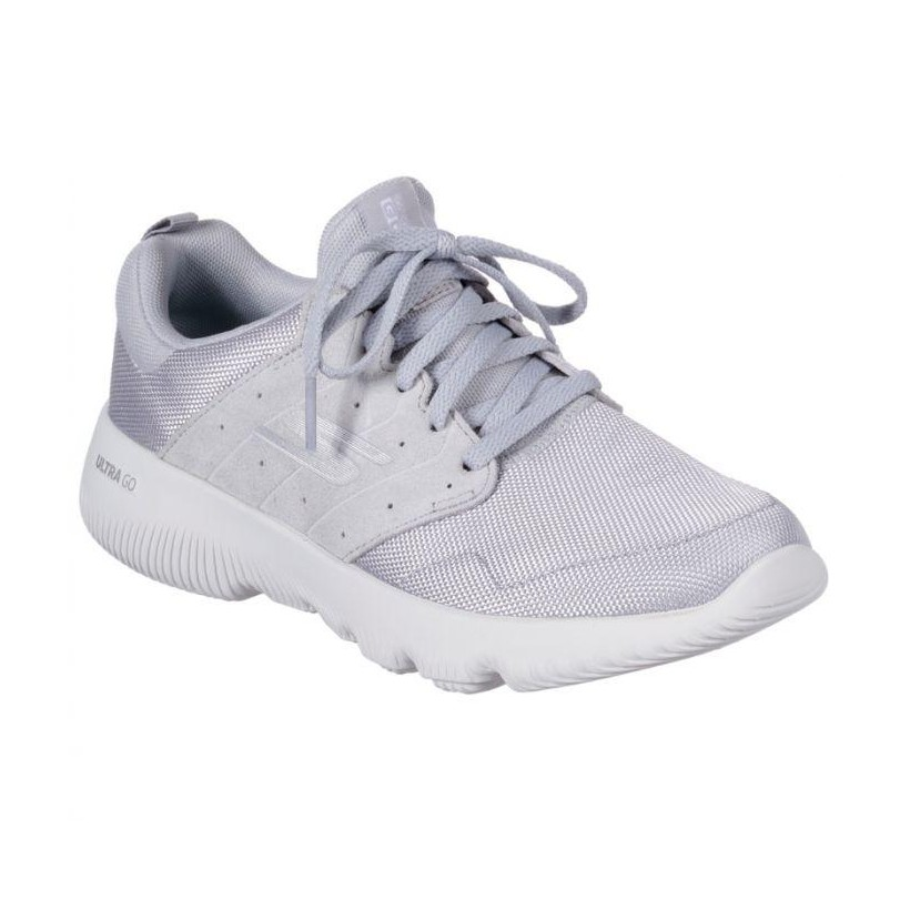 Light Grey - Women's Skechers GOrun Focus - Take Off